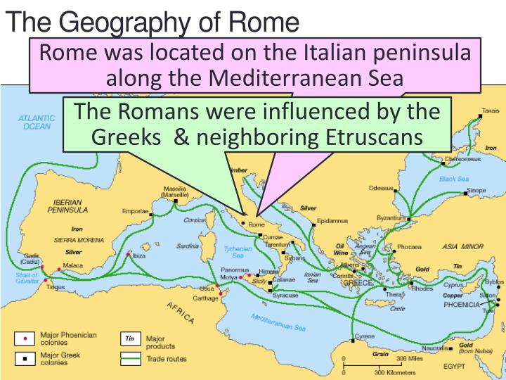 PPT Roman Civilization PowerPoint Presentation ID - Geography of rome