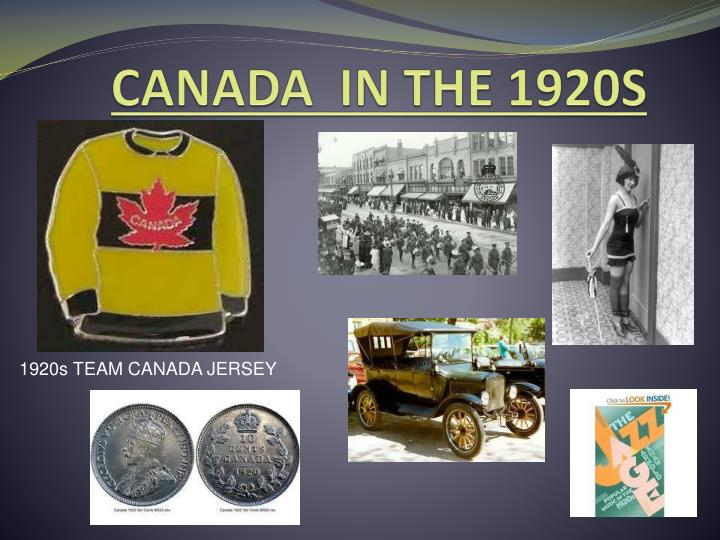 canada in the 1920s essay Platforms social social seo cms 1920s & 1930s canada photo essay by: lida fathi many people during the great depression throughout the 1930s, tried to find activities that would take their minds off the troubles.
