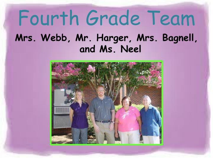 Fourth Grade Team