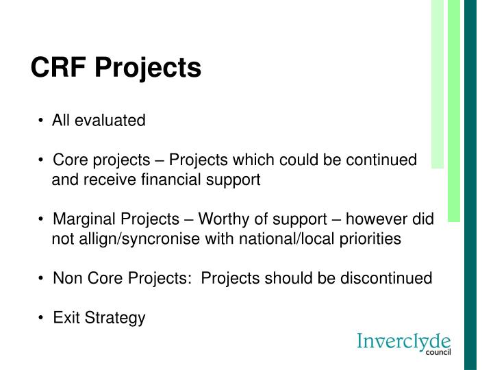 CRF Projects