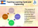 teaching learning cycle and coplanning