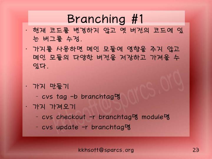 Branching #1