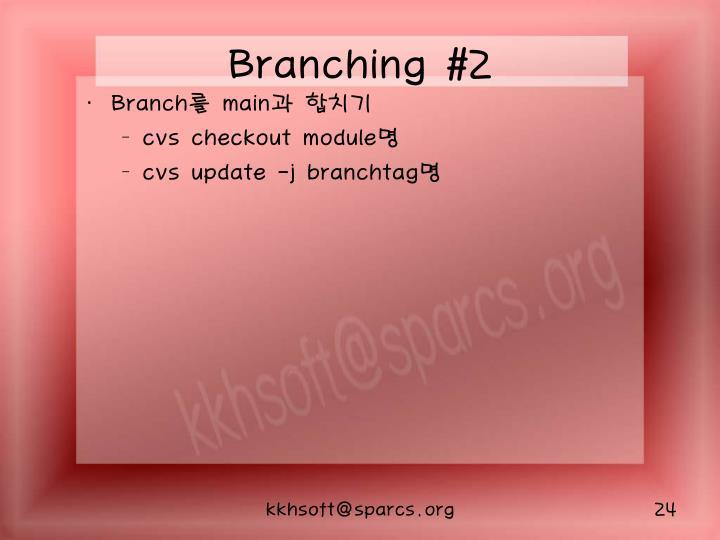 Branching #2