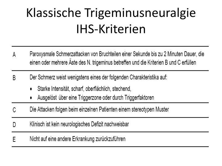 PPT - TRIGEMINUSNEURALGIE PowerPoint Presentation - ID:5671161