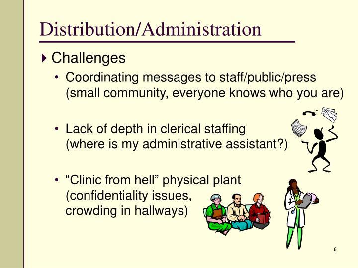Distribution/Administration