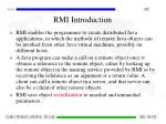 rmi introduction