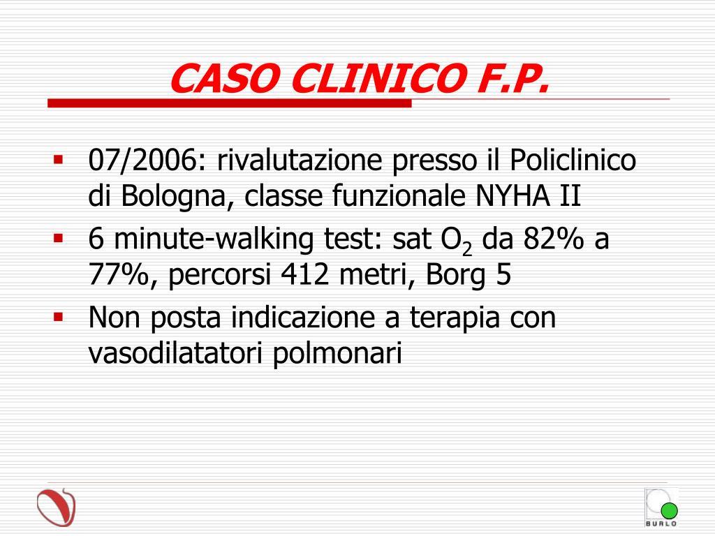 PPT - IPERTENSIONE ARTERIOSA POLMONARE IN UNA CARDIOPATIA..