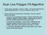 scan line polygon fill algorithm1