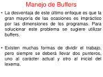 manejo de buffers