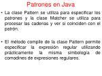patrones en java1
