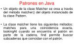 patrones en java2