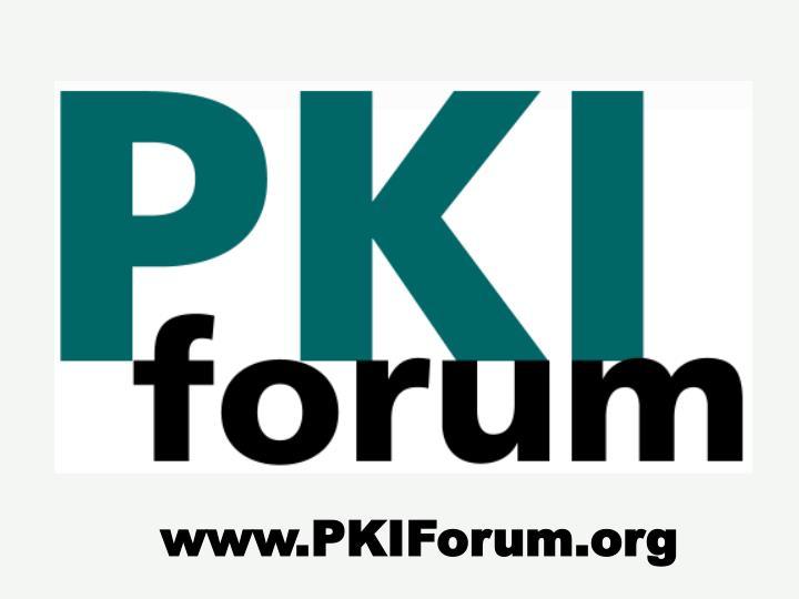www.PKIForum.org