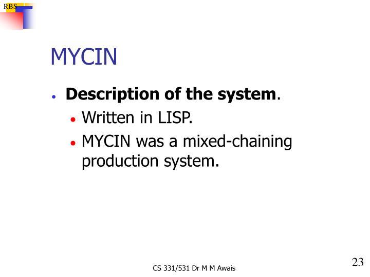 MYCIN