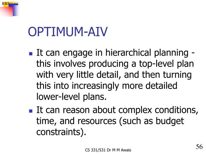 OPTIMUM-AIV