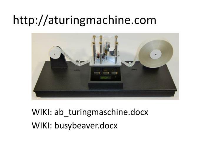 http://aturingmachine.com