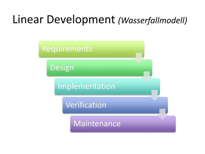 Linear Development