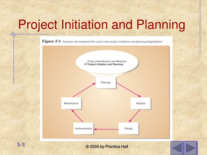 Project initiation and planning