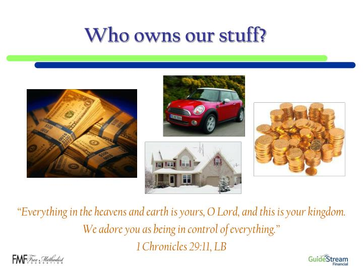 Who owns our stuff