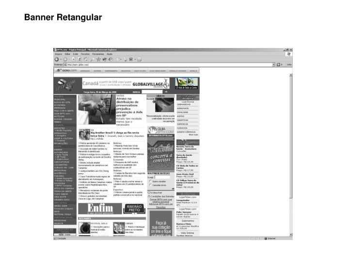 Banner Retangular
