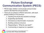 picture exchange communication system pecs