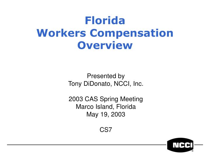 florida workers compensation overview n.