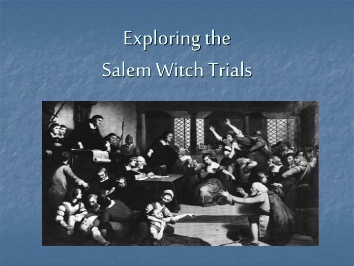 the salem witch trials as an example of mass hysteria in arthur millers the crucible And the spectre of mass hysteria by mark [the salem witch trials] several decades after he premiered the crucible, arthur miller marveled at the play's.