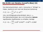 die kritik von hendry lovell s bias 6