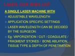 laser our wish list