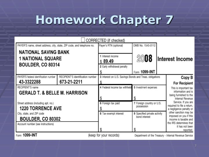 tax 1 homework ch 6 Study accounting 272 homework solutions - chapter 6 notes.