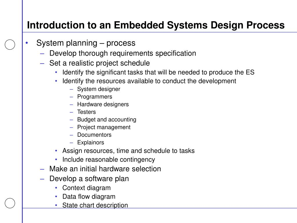 Ppt Advanced Embedded Systems Design Powerpoint Presentation Free Download Id 5673928