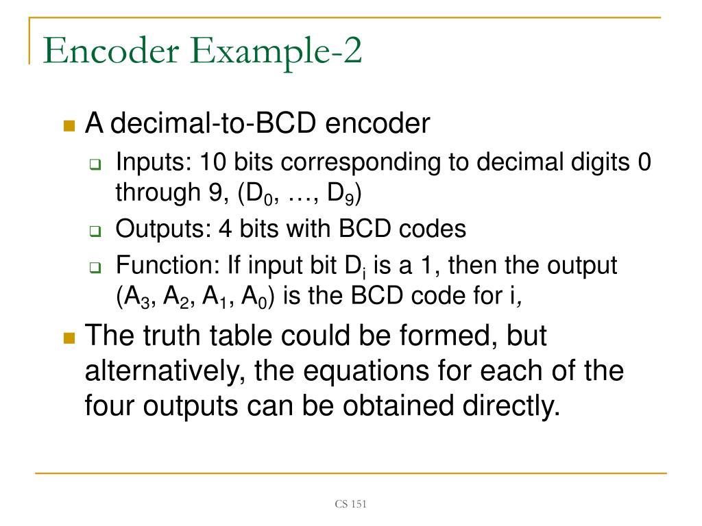 PPT - CS 151: Digital Design PowerPoint Presentation - ID:5674252
