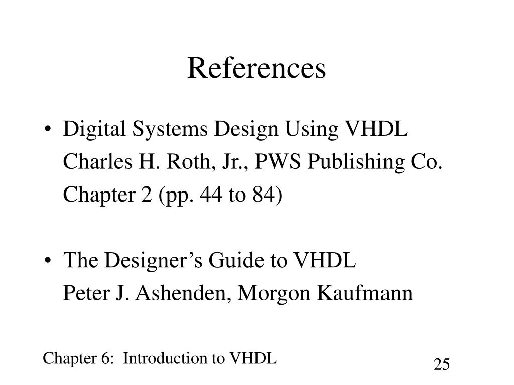 Ppt Introduction To Vhdl Powerpoint Presentation Free Download Id 5674562