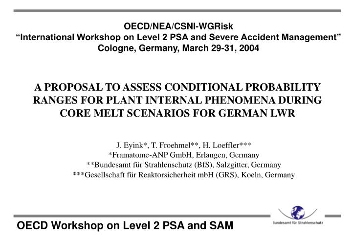 oecd workshop on level 2 psa and sam n.