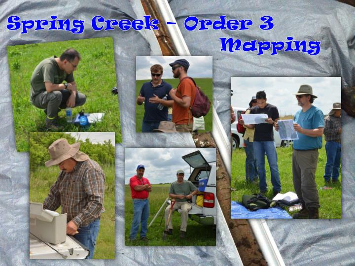 Spring Creek – Order 3 Mapping