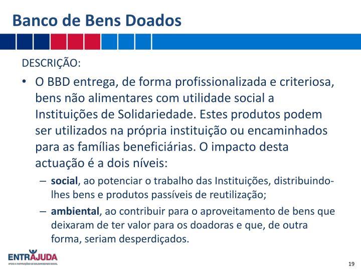 Banco de Bens Doados