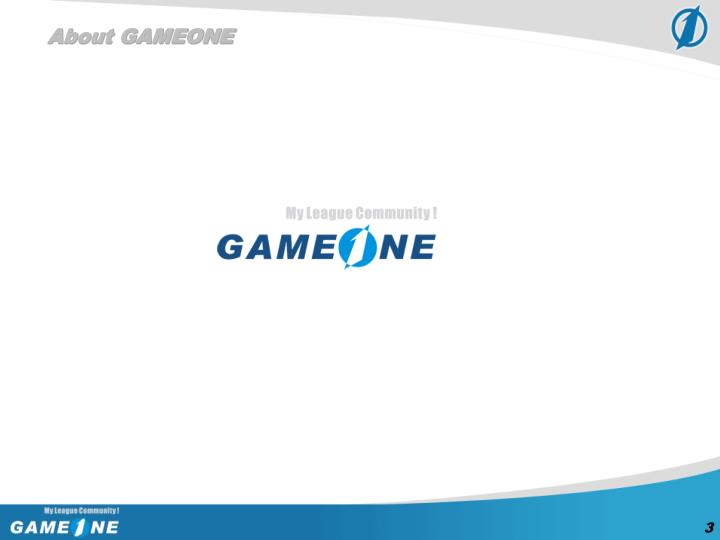 About GAMEONE