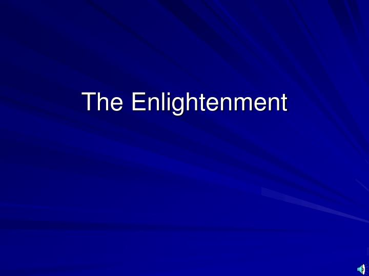 the enlightenment neo classicism