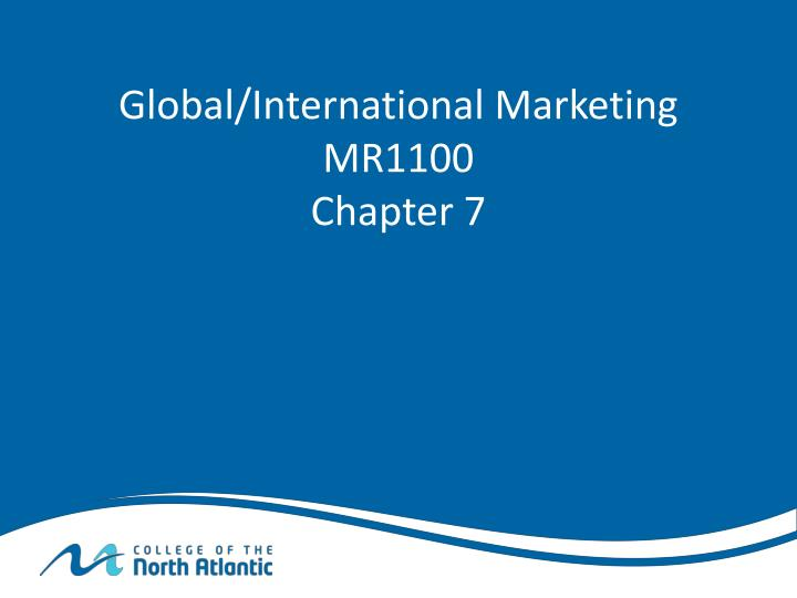 international marketing chapter 19 negotiating with Question 19 19 which scenario  your international customer does business in a free-trade environment that will not  international negotiation.