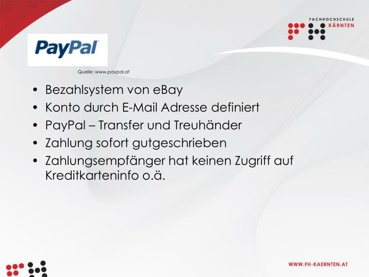 Quelle: www.paypal.at