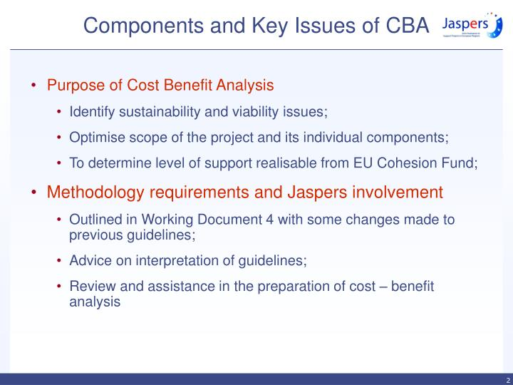 Components and key issues of cba