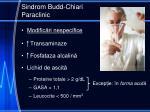 sindrom budd chiari paraclinic