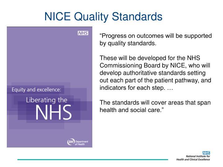 NICE Quality Standards