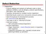 defect reduction1