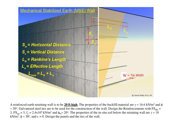 Mse Wall Construction : Ppt mechanically stabilized earth mse wall project