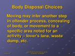 body disposal choices4