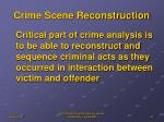crime scene reconstruction1