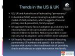trends in the us uk