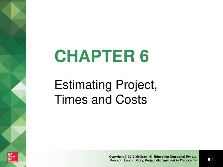 lecture notes cost management Lecture notes on construction project management emad elbeltagi, phd, peng 104 earned value management 240 budgeted cost of work scheduled (bcws) 241.