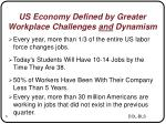 us economy defined by greater workplace challenges and dynamism