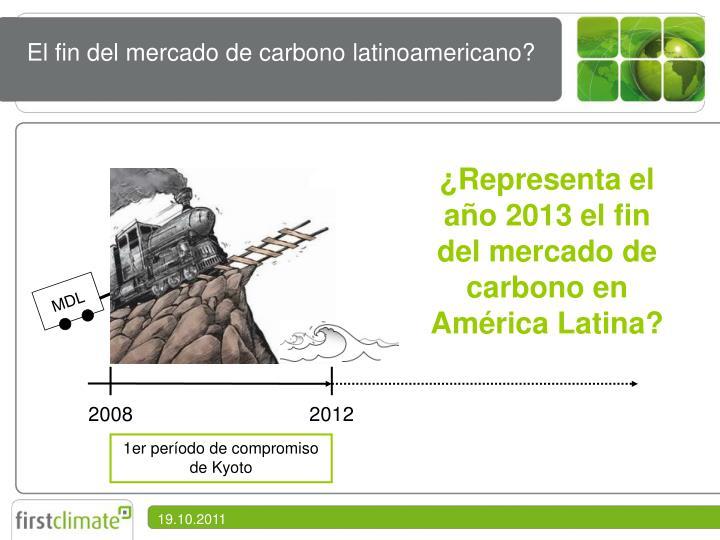 El fin del mercado de carbono latinoamericano?